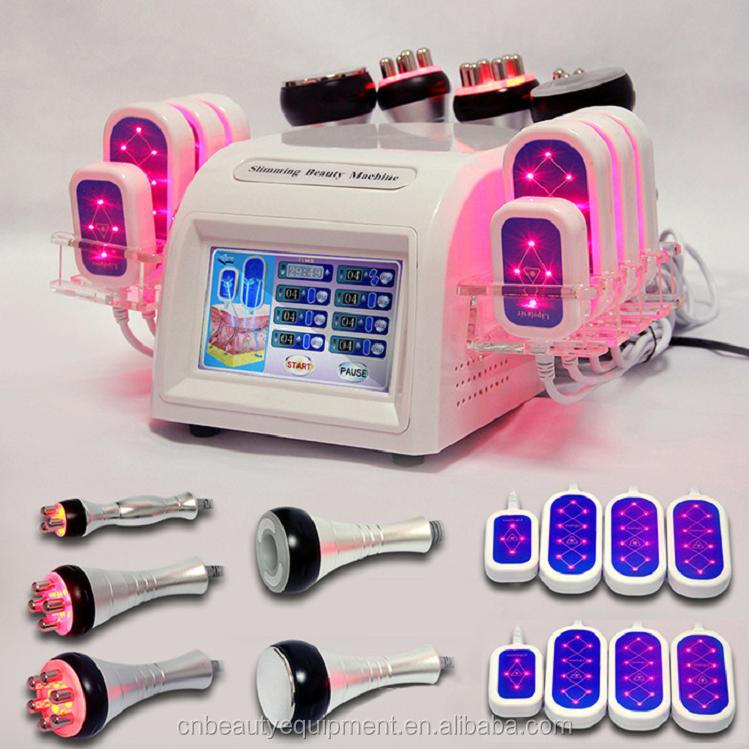 Vacuum cavitation RF laser slimming machine best selling products 2018in usa