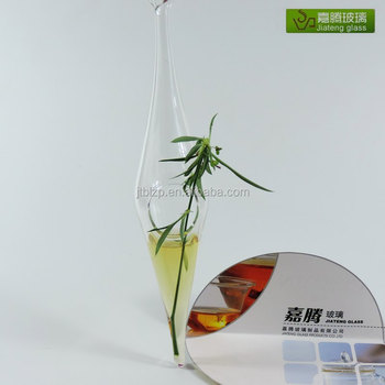 Wholesale Cone Shaped Hanging Glass Vases For Home Decoration Buy