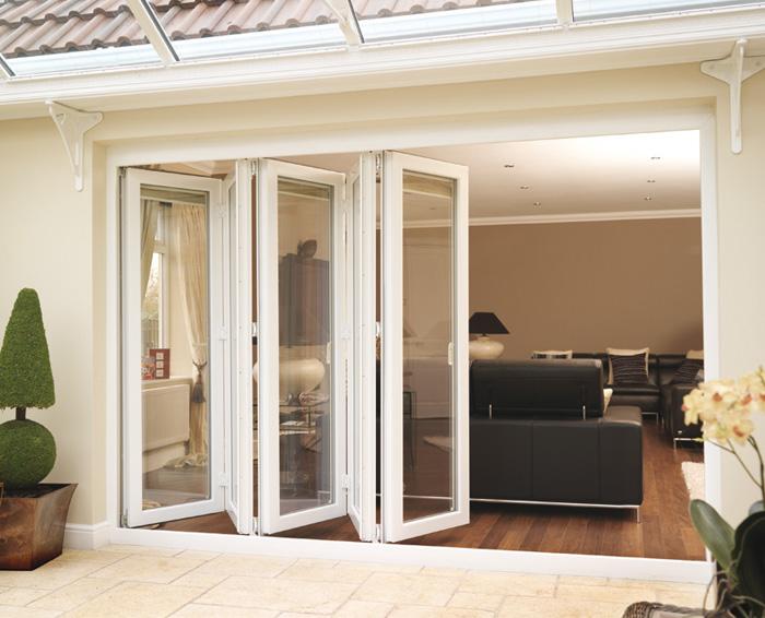 Aluminio enmarcado puertas de entrada de cristal puertas - Puertas terraza aluminio ...