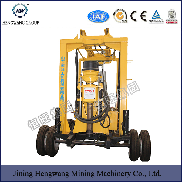 Trailer mounted water well drilling rig price