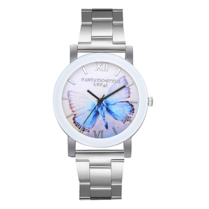 Lvpai Brand Fashion Butterfly Dial Sports Casual Design Quartz Wrist Watch Wristwatch Women Lady Watch
