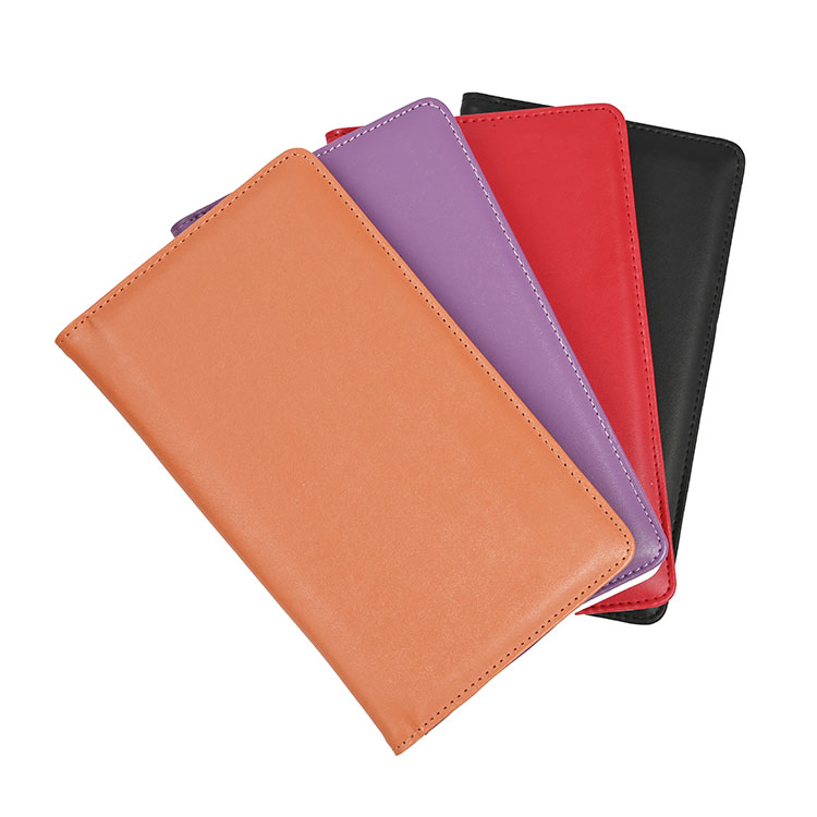 Hot Selling Multi-Function Hotel Bill Folder Leather Ticket Holder Wholesale For Women