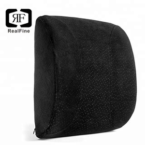 Orthopedic Lumbar Support Back Cushion Ergonomic Memory Foam Back Chair cushion