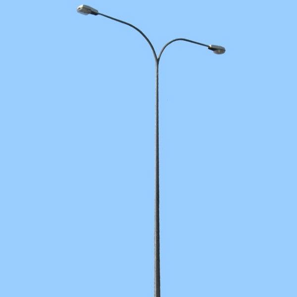 Double Arm Street Light