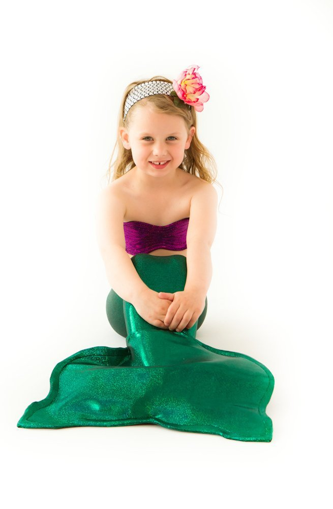 Get Quotations · Green Mermaid Tail with Seashell Top - Little Mermaid Costume (Small 2T-4T)  sc 1 st  Alibaba & Cheap Little Mermaid Costume Top find Little Mermaid Costume Top ...
