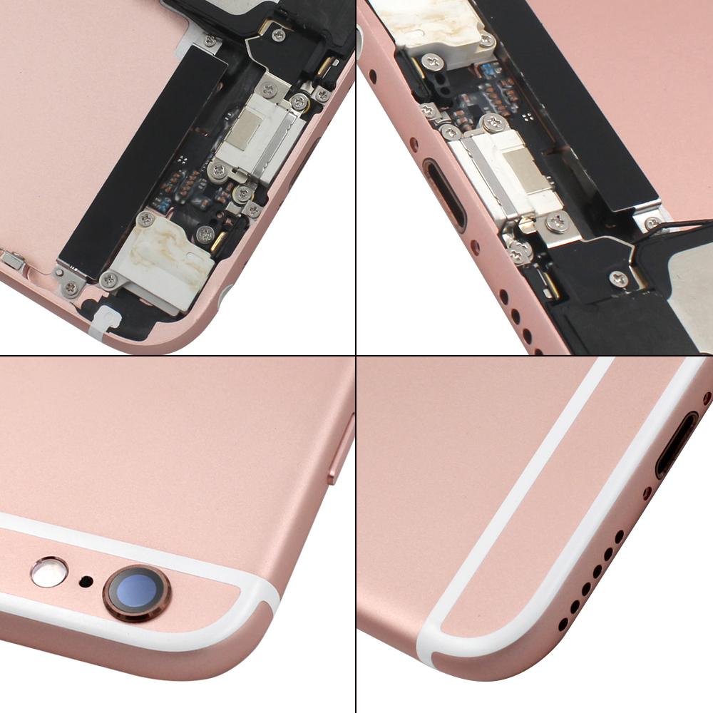 18 years Wholesales Housing assembly for iphone 6s,back cover and AAA+flex with imei