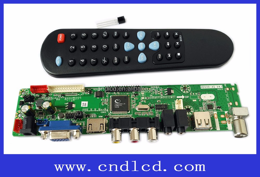 On-sale HDVx9-AS made by the CND Electronic Company server for Samsung and LG monitor board