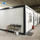 prefabricated exporter living capsule container hotel house room for sale