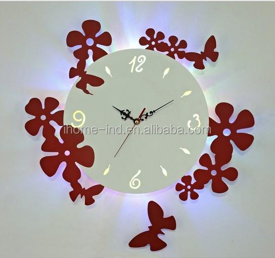 Wedding souvenirs acrylic wall clock led light digital wall clock wedding souvenirs acrylic wall clock led light digital wall clock mozeypictures Gallery