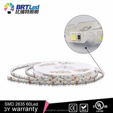 Ra 80 SMD 2835 98 led/M led ribbon tape with cUL UL terms
