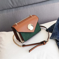 fashion long chain bag for lady,PU leather women shoulder bag