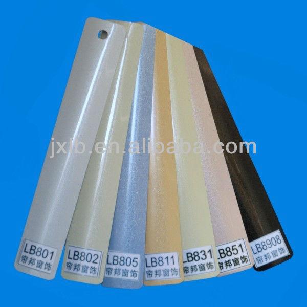 25mm perla color de persianas de lamas de aluminio para - Listones de aluminio ...