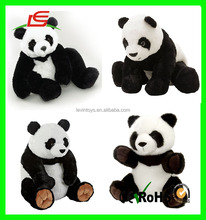 ICTI Audited Cuddle Sitting giant Plush Soft Stuffed Animal panda bear Toys