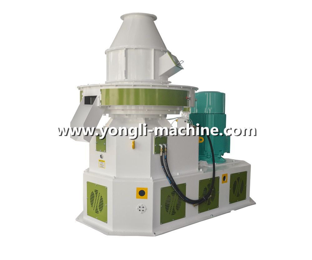 plastic pellet machine