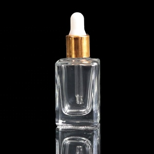 8ml 10ml 12ml 15ml Fancy New Mini Size Clear Essential Oil Glass Dropper Bottle for Cosmetic (MG05)