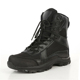 Black cemented EVA rubber sole army combat boots shoes
