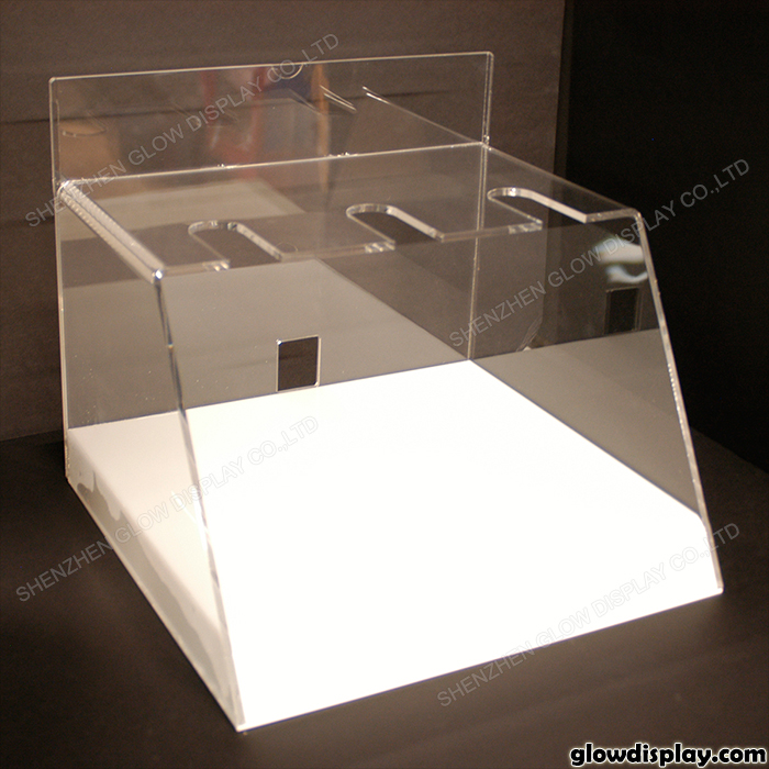 Glowdisplay Acryl Föhn Display Case Voor Beursstand Met Led ...