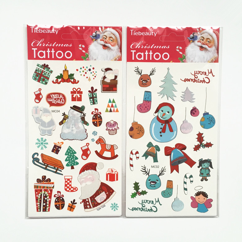 Christmas Eve Activities.New Selling Christmas Temporary Tattoo Decoration For Christmas Eve Activities Buy Christmas Temporary Tattoo Christmas Eve Activities New Christmas