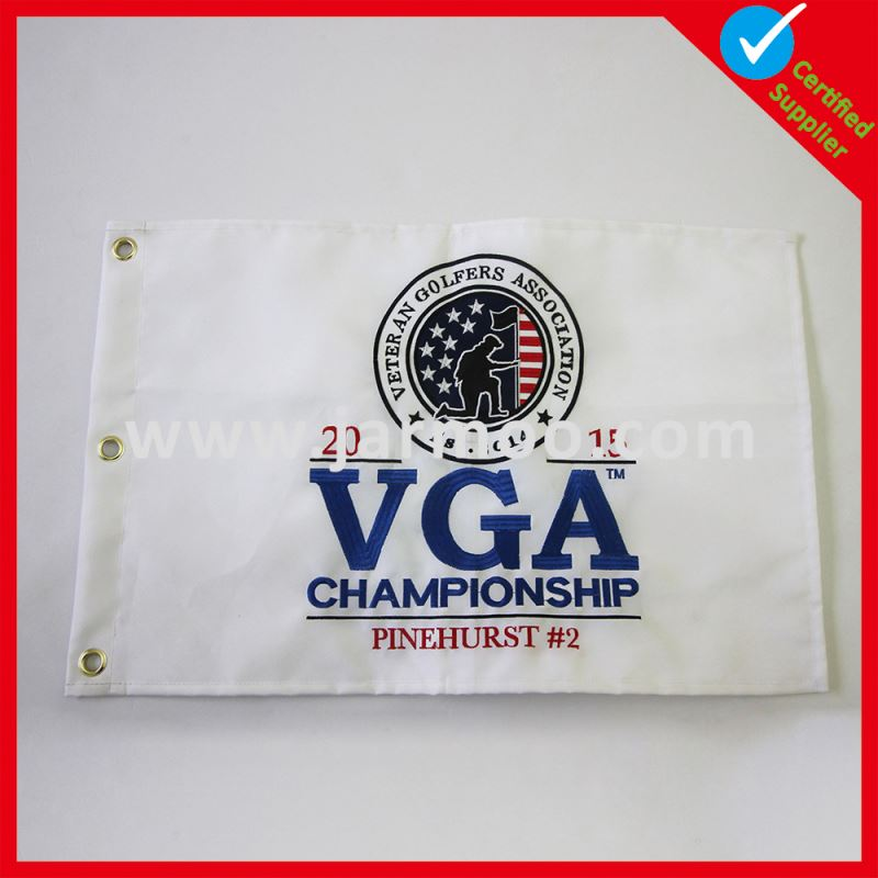 Wholesale Custom golf gps putting green flags and cups personalized golf balls