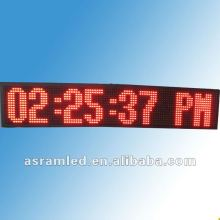 2.3 inch 6 digit led digital wall clock 1.5 inch led digital clock circuit module with temperature, date display