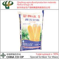 New type of high nitrogen npk corn fertilizer N-P2O5-K2O=28-15-12