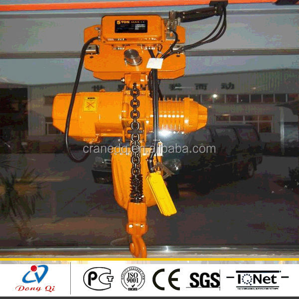 1ton electric chain winch hoist wireless remote control for sale
