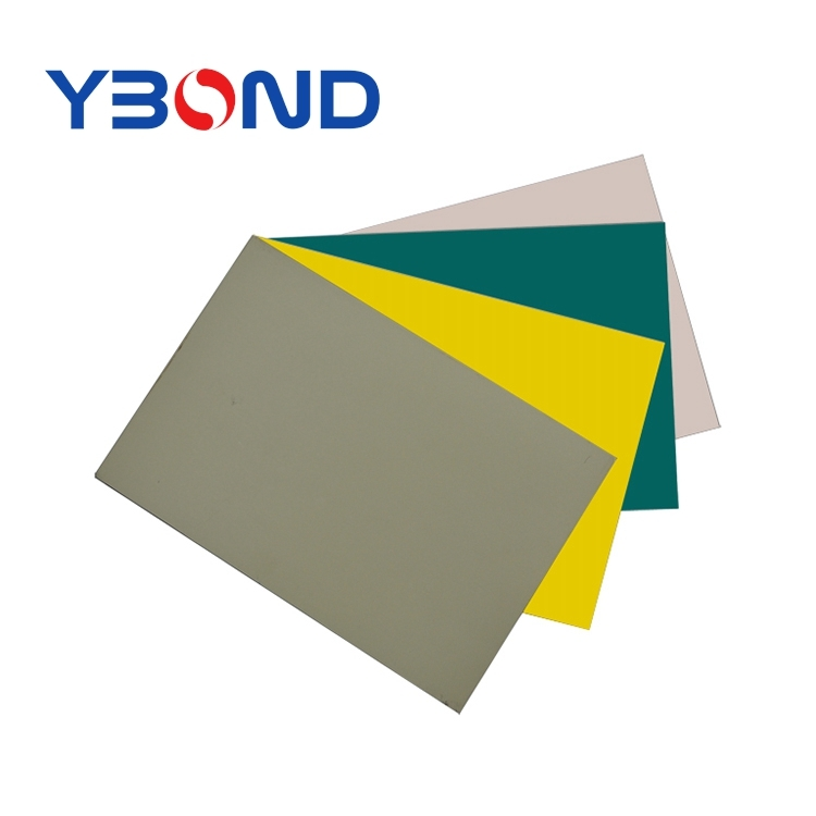 Modern building exterior siding standard solid color aluminum PE composite panel