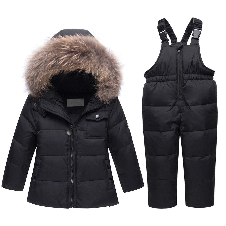 Mandaartins Winter Coat Children Girls Clothing Sets Kids Baby Boy Girl Clothes Jackets Snow Wear