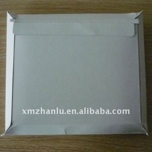 White DVD board envelopes