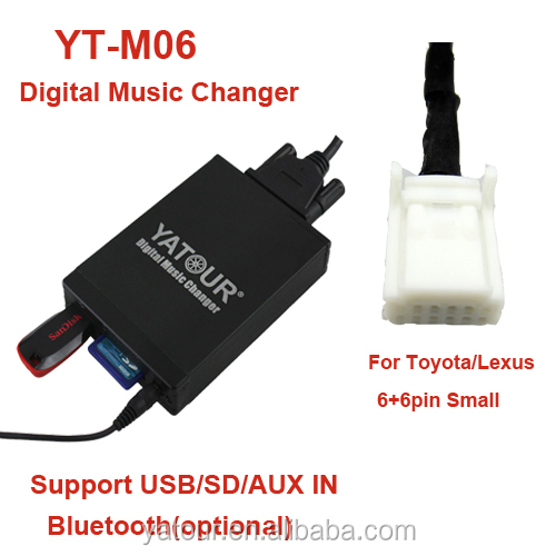 Yatour Yt-m06 Toyota Aux /sd Card/usb Mp3 Adapter