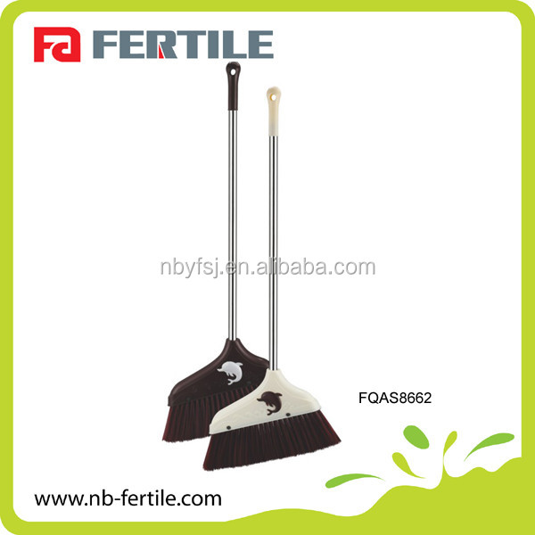 FQAS8662 Plastic Broom /Broom Stick From China Factory