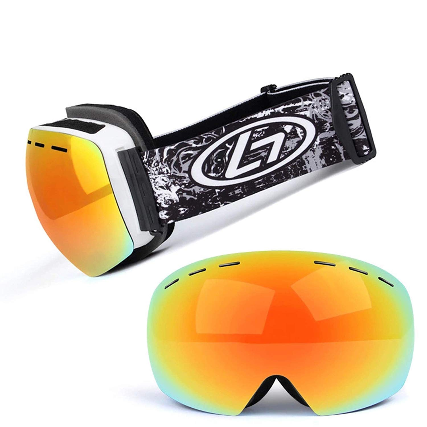 5edbff5765 Buy Men  amp  Women Mountain Climbing Skiing Goggles Ski Eyewear ...