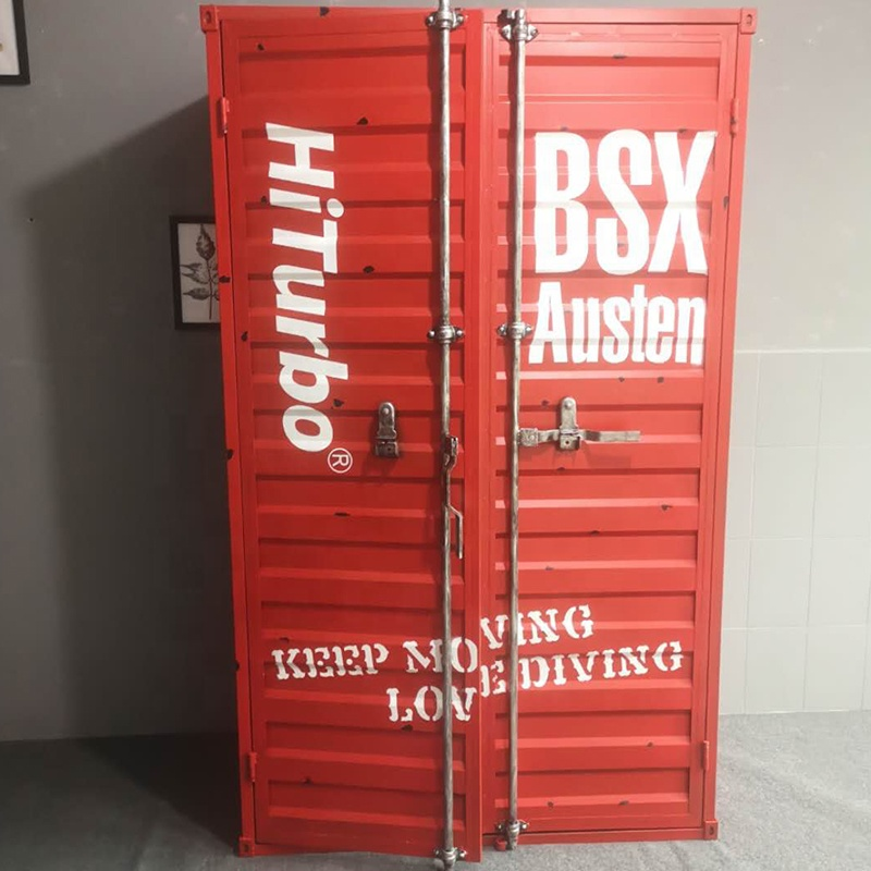 shipping container furniture metal cabinet living room cabinet custom made cabinet for diving equipment