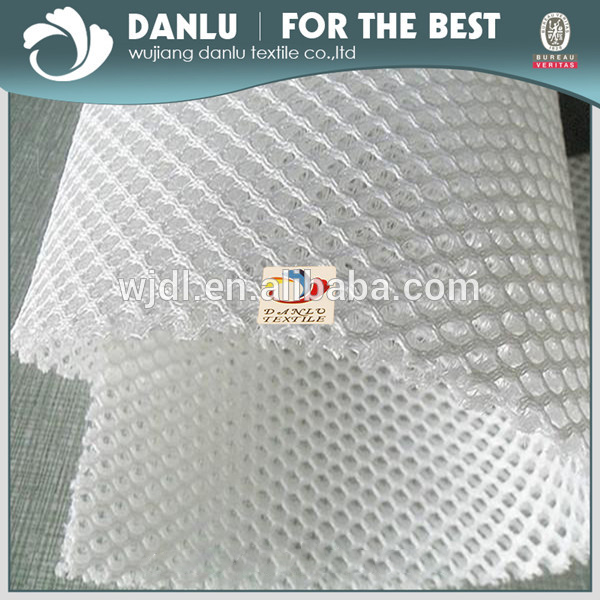 100% Polyester 3D Air Mesh Stoff Mit 7,5mm/kunststoff mesh