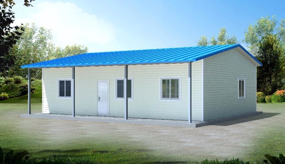 Portable Cabin Kits Prefab Light Steel Cottage A Frame
