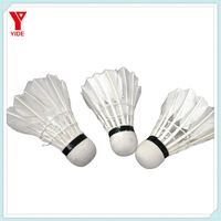 12PCS Training Goose Feather shuttlecock badminton for walmart and clubs