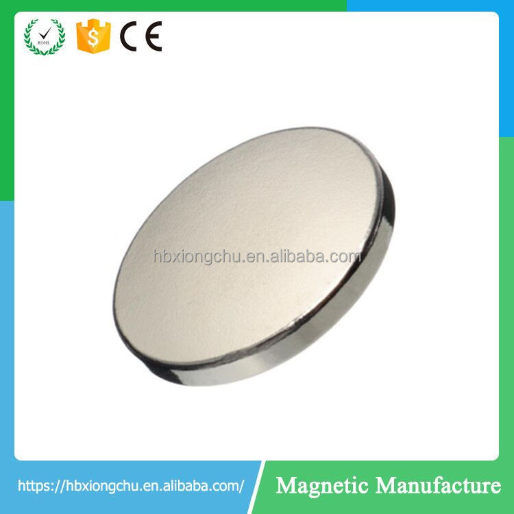 Speaker Magnet Application and Permanent Type Neodymium magnet disc