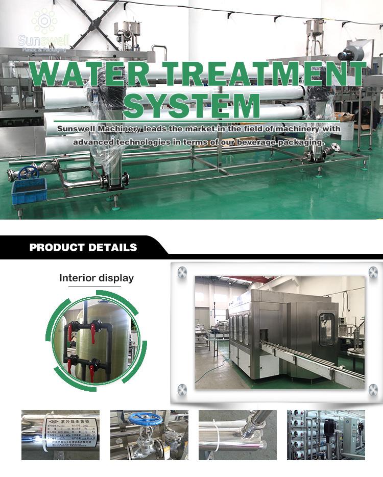 RO Tratamento de Água para Beber Água do Sistema de tratamento de Água/RO estação de Tratamento de Água/Osmose Reversa para Garrafa de Beber