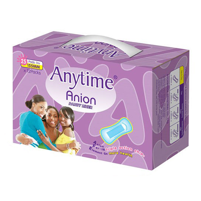 GPL1572 Wholesales Disposable Good Quality Anion panty liner, anion products factory in china