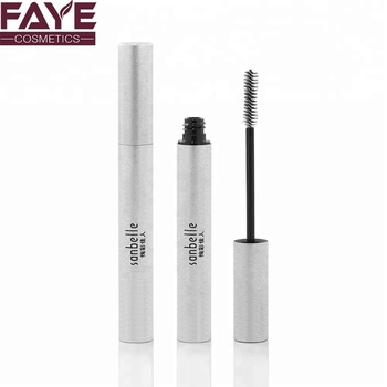 80d008081f9 Slim Empty Aluminum Cosmetics Container White Mascara Packing Tube ...