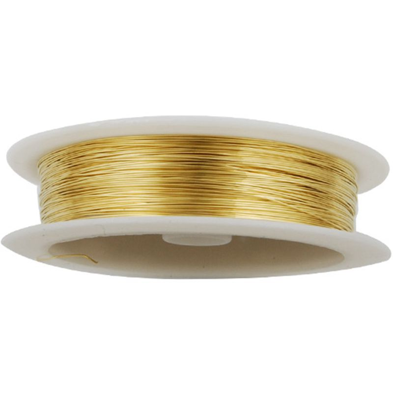 Cheap thick copper wire find thick copper wire deals on line at get quotations 03mm thick gold coated soft copper wireabout 23m25yds per roll greentooth Images