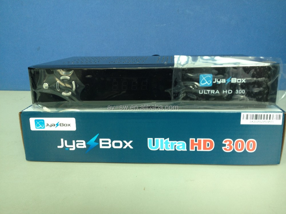 jyazbox ultra <strong>hd</strong> 300 <strong>fta</strong> <strong>satellite</strong> tv <strong>receiver</strong> with 8psk jb200 wifi universal remote iks sks for north america free shipping