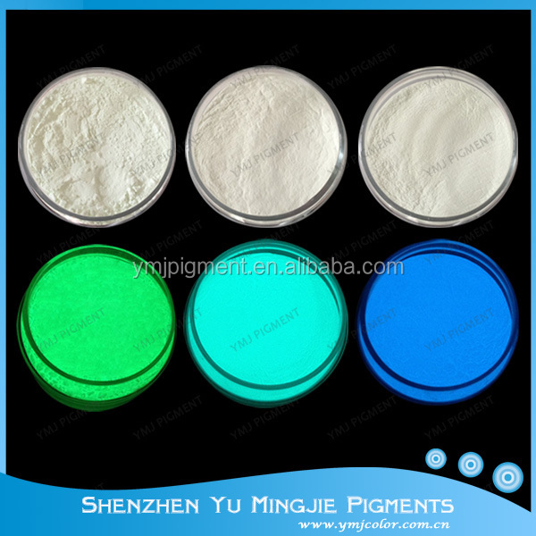 Free Sample Glow In The Dark Pigment Paint/Glow Pigment/Photoluminescent Pigment