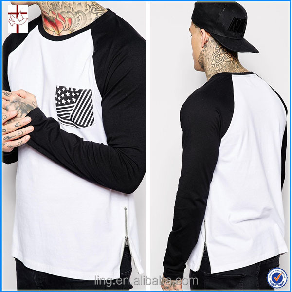 New 2016 Fancy Design Men T-shirt With V-neckline Bottom Design ...