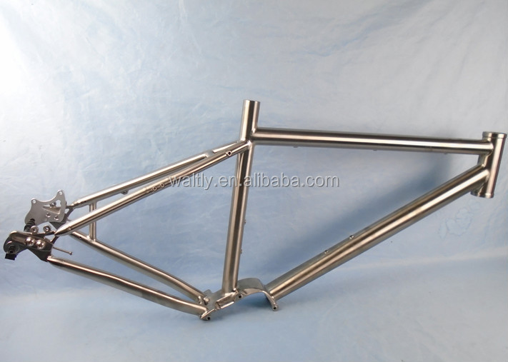 Special design titanium pinion bicycle frames