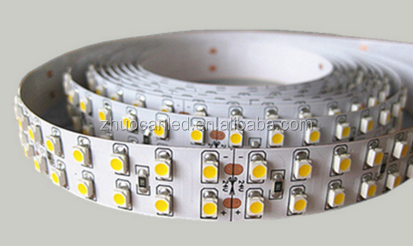 Factory Directly Price Double Row Flexible Led Strip Light 3528 240leds/m strip WW/CW/Red/Green/Blue/Yellow