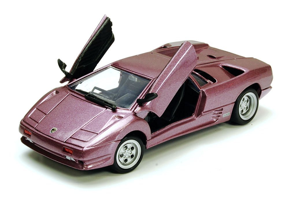 Lamborghini Diablo Purple 1/24 By Motormax 73201