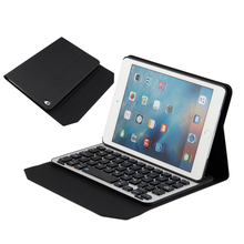 Removable Bluetooth Leather Keyboard Case Tablet with Stand for iPad Mini 3 2 1