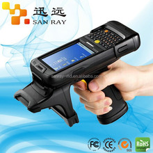 Battery powered handheld reader with Impinj R2000