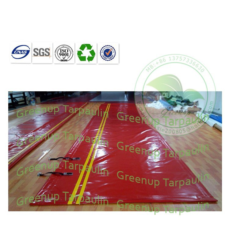 Waterful Anti-UV Ray 900gsm PVC Tarpaulin Truck Side Curtain